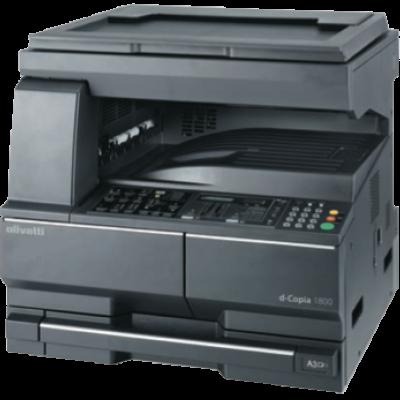 Les d-Copia 1800 et d-Copia 2200 Olivetti sont des systèmes modulaires numérique A3 caractérisés par un design ergonomique et compact. Ils sont une excellente solution pour les petites et moyennes entités pour lesquelles la productivité, la fiabilité et la rentabilité sont des considérations primaires.