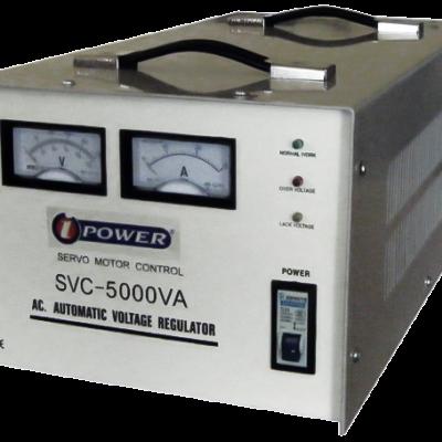 La série AVR SVC Ipower est très résistante, pas de distorsion sinusoïdale, compact, et très efficace contre les variations de tension. Sa facilité d'utilisation, sa fiabilité et ses performances vous satisferont pleinement.